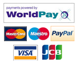 WorldPay: Please use one of the following credit cards